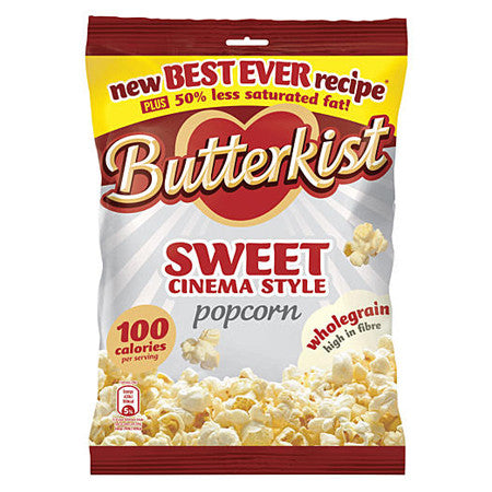 Butterkist Sweet Cinema Style Popcorn 100g