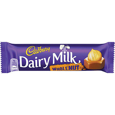 Cadbury Dairy Milk Whole Nut 49g