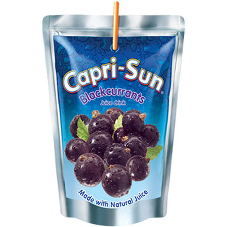 Capri Sun Blackcurrant 200ml