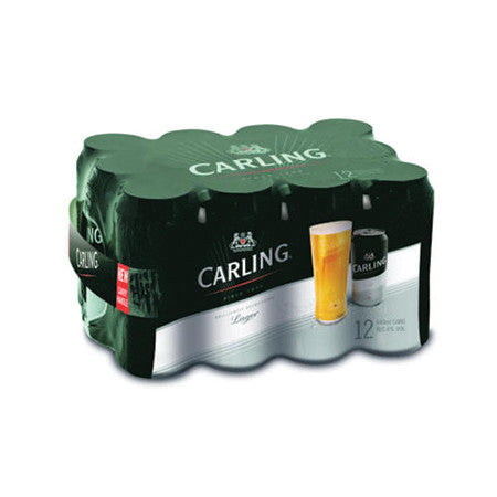 Carling Beer 4% 440ml Pack of 12