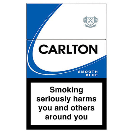 Carlton Bright Blue King Size Cigarettes Pack of 20