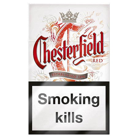Chesterfield Red King Size Cigarettes Pack of 20