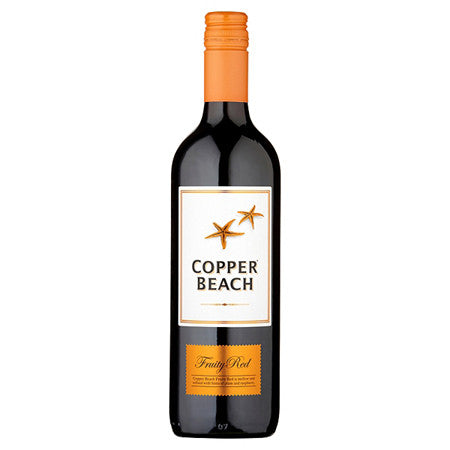 Copper Beach Fruity Red Wine 75cl