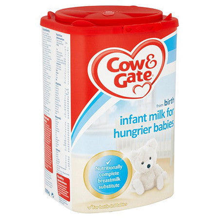 Cow & Gate Infant Milk For Hungrier Babies From Birth 900g
