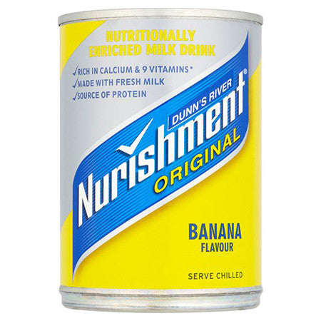 Dunn's River Nurishment Original Banana Flavour 370ml