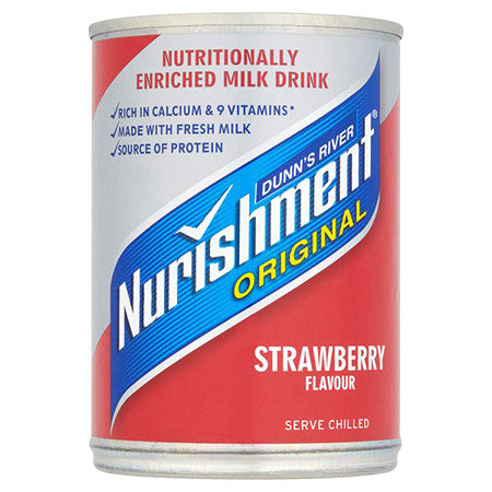 Dunn's River Nurishment Original Strawberry Flavour 370ml