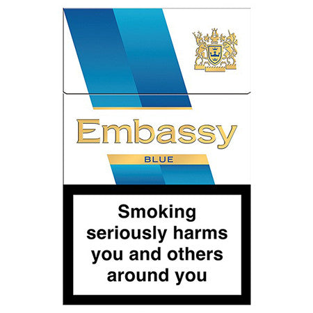 Embassy Blue King Size Cigarettes Pack of 20