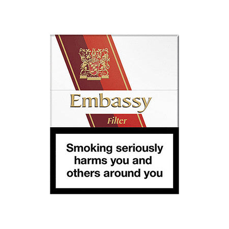 Embassy Filter Cigarettes Pack of 20