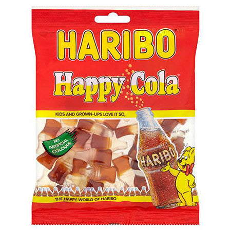 Haribo Cola Bottles 160g