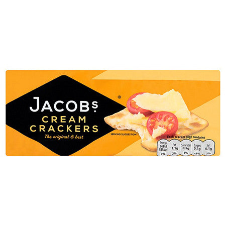 Jacobs Cream Crackers 200g