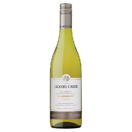 Jacobs Creek Chardonnay White Wine 75cl