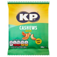 KP Salted Cashew Nuts 30g