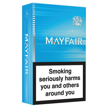 Mayfair Smooth Sky Blue King Size Cigarettes Pack of 20