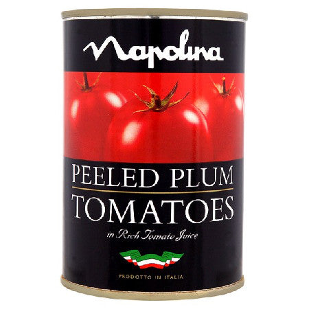 Napolina Peeled Plum Tomatoes in Rich Tomato Juice 400g