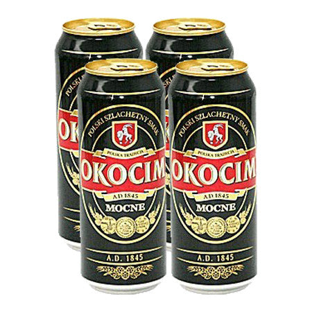 Okocim Beer 7% 500ml Pack of 4