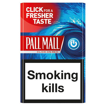 Pall Mall Flow Red King Size Cigarettes Pack of 20