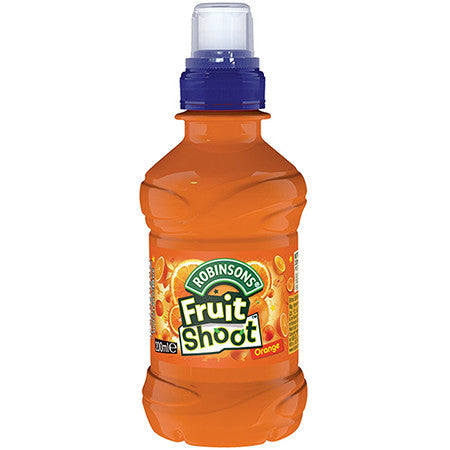 Robinsons Fruit Shoot Orange No Added Sugar 200ml