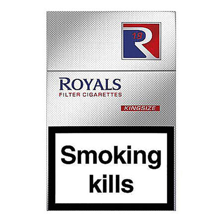Royals Red King Size Cigarettes Pack of 20