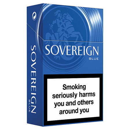 Sovereign Blue King Size Cigarettes Pack of 20