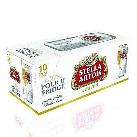 Stella Artois Beer 4 8 440ml Pack Of 10 Dial A Delivery