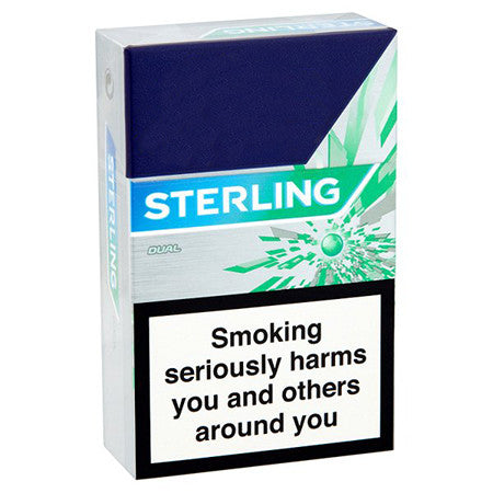 Sterling New Dual King Size Cigarettes Pack Of 20 Dial A Delivery