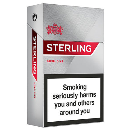 Sterling King Size Cigarettes Pack of 20