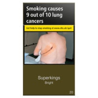 Superkings Bright Superking Size Cigarettes Pack of 20