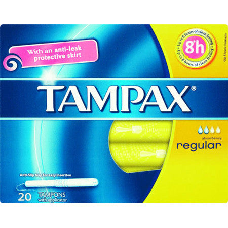 Tampax Regular Tampons Pack of 18