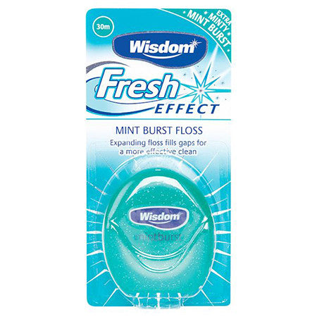 Wisdom Fresh Effect Mint Floss
