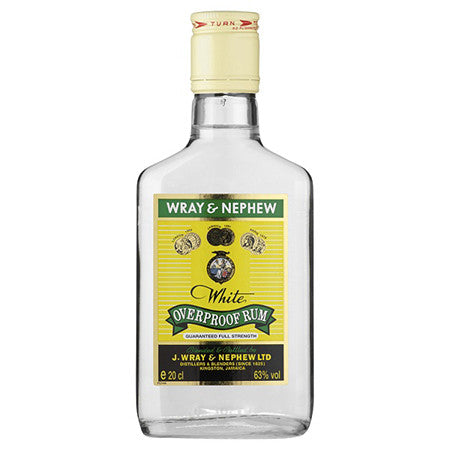 Wray & Nephew Over Proof White Rum 35cl