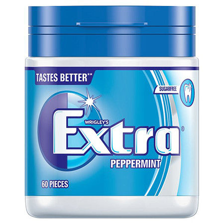 Wrigleys Extra Peppermint Gum Pack of 60