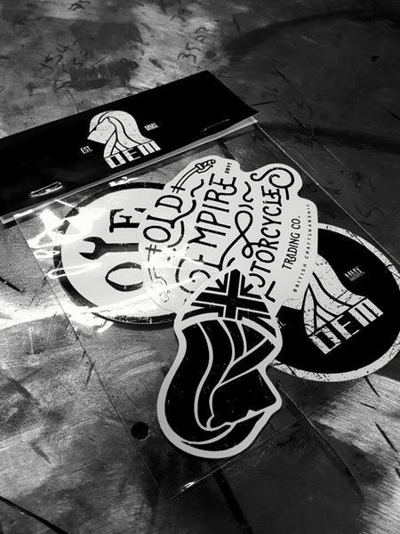 Classic Vinyl Sticker Pack