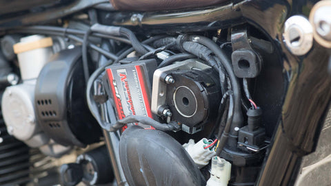 Triumph Throttle Conversion