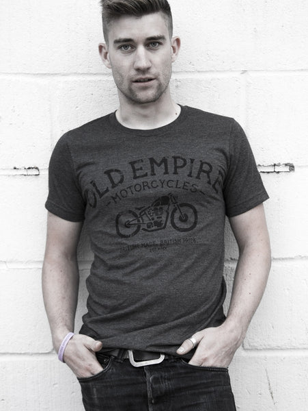 Classic Old Empire Motorcycles Tee