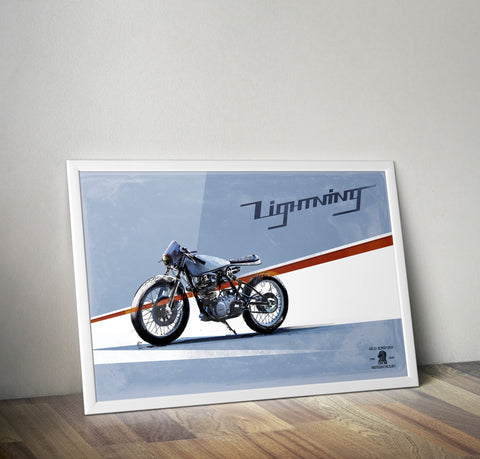Ltd Edition Premium Fine Art Lightning Poster Print