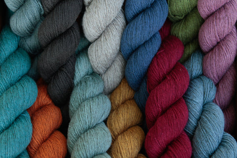 Cashmere lace weight yarn