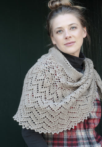 Cascade Knit Shawl Pattern by Kirsten Kapur