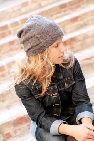 All Seasons Slouchy Hat by Elizabeth Elliott