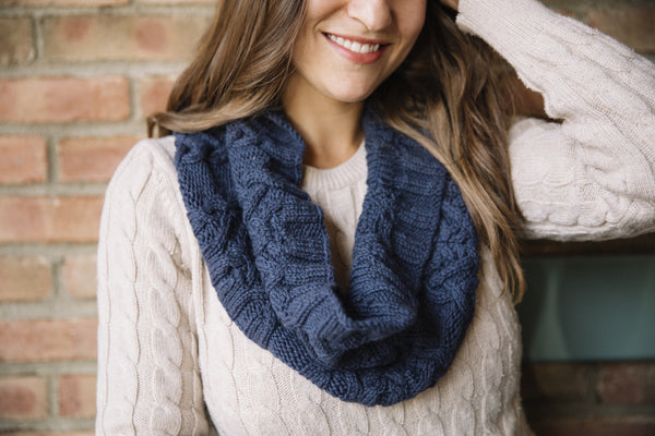 Cabled Cowl Knitting Pattern by Tanis Gray
