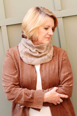 Romi Hill Knitting Patterns - Embrace Cowl