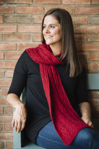 Unisex Scarf Pattern - His or Her Scarf by Kirsten Kapur