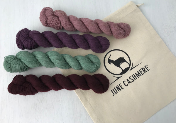 June Cashmere Project Bag