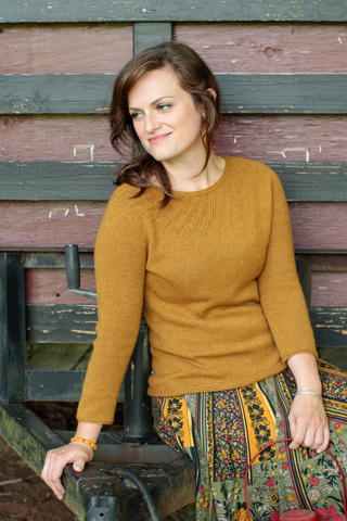 The Turmok: A Swirl Yoke Sweater Kit