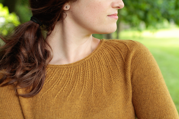 The Turmok: A Swirl Yoke Sweater by Norah Gaughan