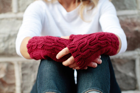 Journey Mitts by Kristin Eksuzian
