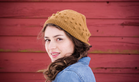 June Cashmere, hat pattern, 100% cashmere, Lace weight yarn, Gale Zucker