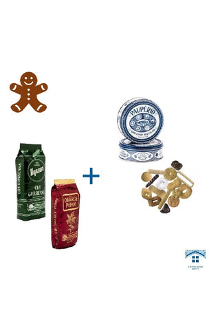 *Christmas´ Presents Ideas* - Hysson Green Tea and Orange Pekoe Black Tea + Selected assorted biscuits
