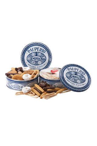 Selected Assorted Biscuits Can 450g
