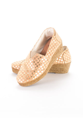 Woman's Espadrille Cork and Rope (wedge)