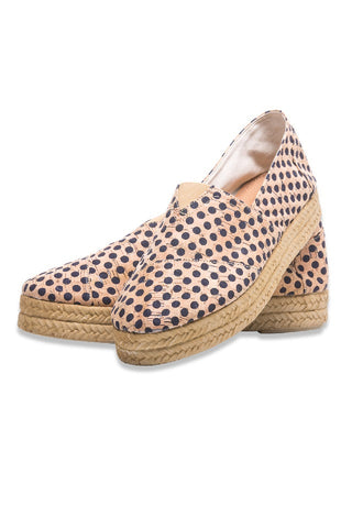 Woman's Espadrille Cork and Rope